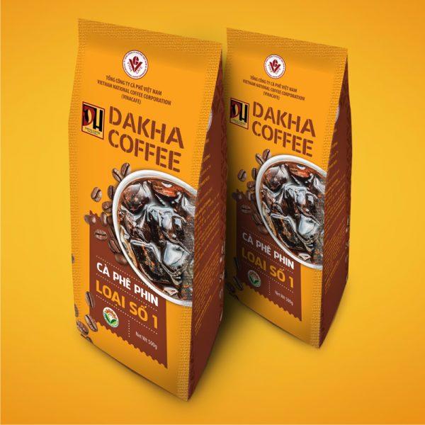 Cà phê Đắk Hà chế phin số 1 (0,5 kg/gói)